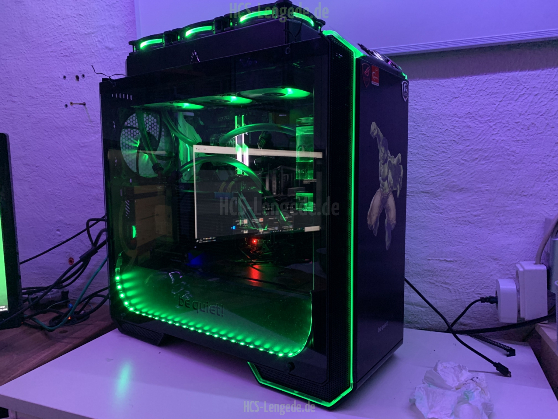 Intel I7 7700K,16 GB GSkill TridentZ RGB,Asrock Z270 Extreme 4,geköpft und mit Flüssigmetal versehen,GTX 980Ti mit Alphacool NexXxoS GPX Wasserkühlung